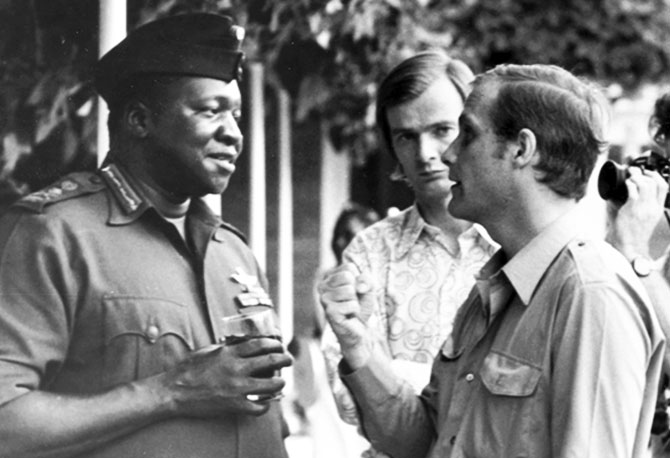 essay on idi amin Kill one person, you go to prison kill 20, you go to an insane asylum kill ten thousand, and you get invited to a peace conference idi amin at death's door : despots should not rest in peace despots live happily it is not just idi amin.
